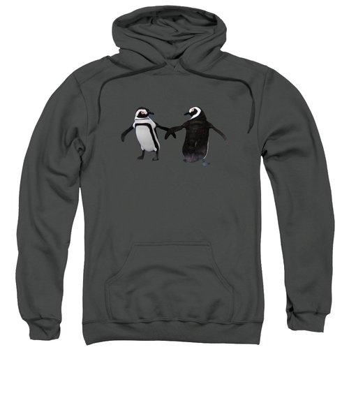 Penguin Dance Sweatshirt by Methune Hively