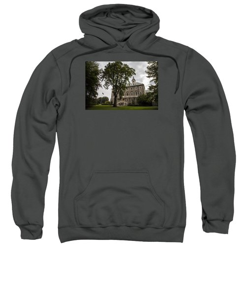 Penn State Old Main And Tree Sweatshirt by John McGraw