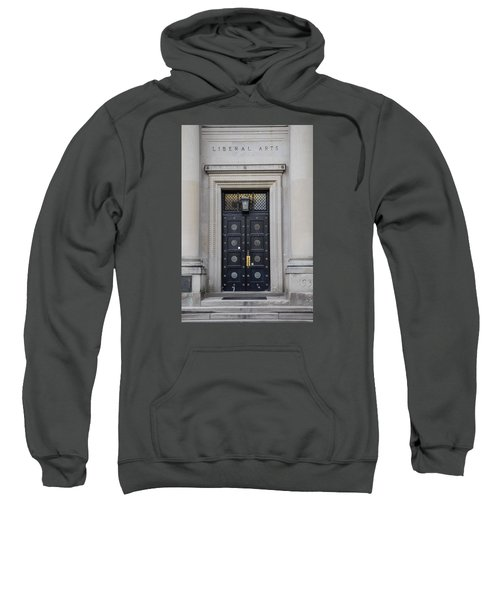 Penn State University Liberal Arts Door  Sweatshirt by John McGraw