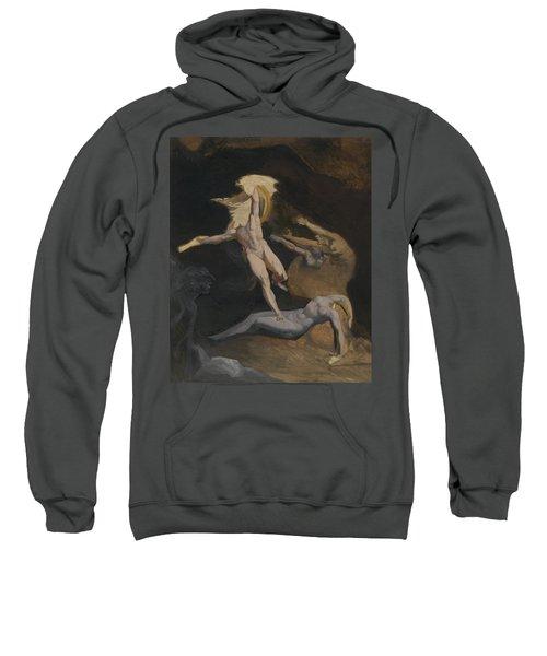 Perseus Slaying The Medusa Sweatshirt by Henry Fuseli