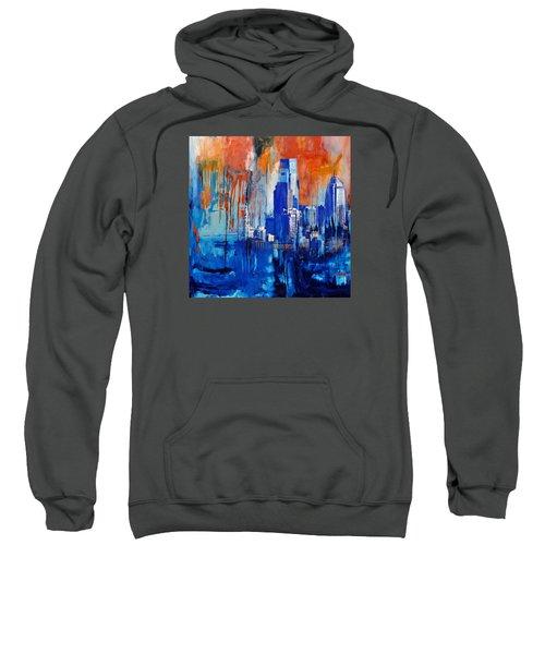 Philadelphia Skyline 227 1 Sweatshirt by Mawra Tahreem
