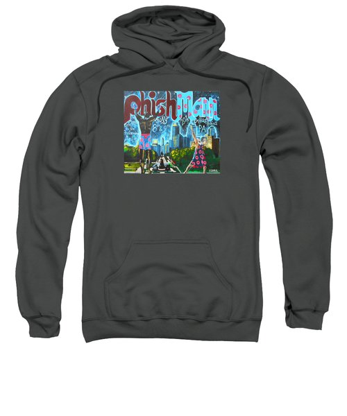 Phishmann Sweatshirt by Kevin J Cooper Artwork