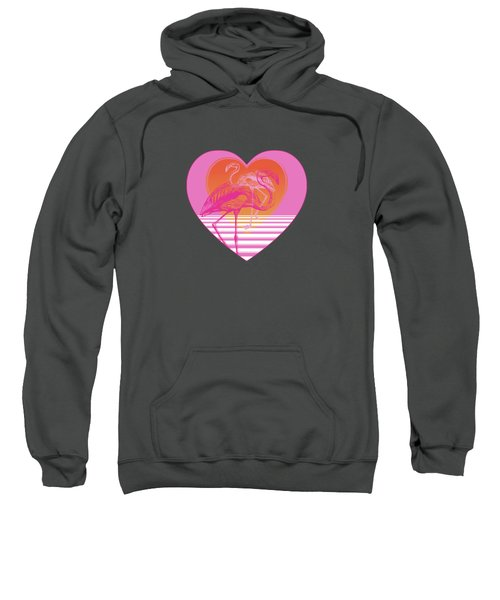 Pink Flamingos Sweatshirt by Eclectic at HeART