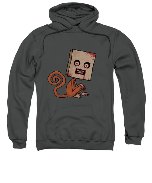 Psycho Sack Monkey Sweatshirt by John Schwegel