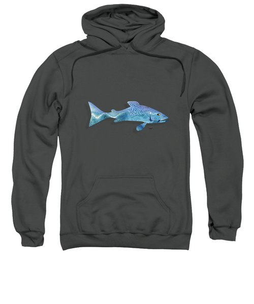 Rainbow Trout Sweatshirt by Mikael Jenei