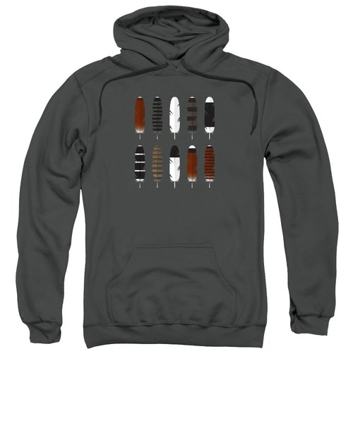 Raptor Feathers - Square Sweatshirt by Peter Green