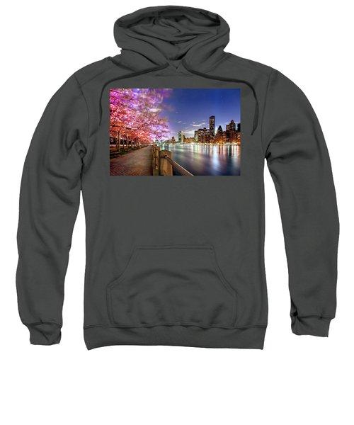 Romantic Blooms Sweatshirt by Az Jackson