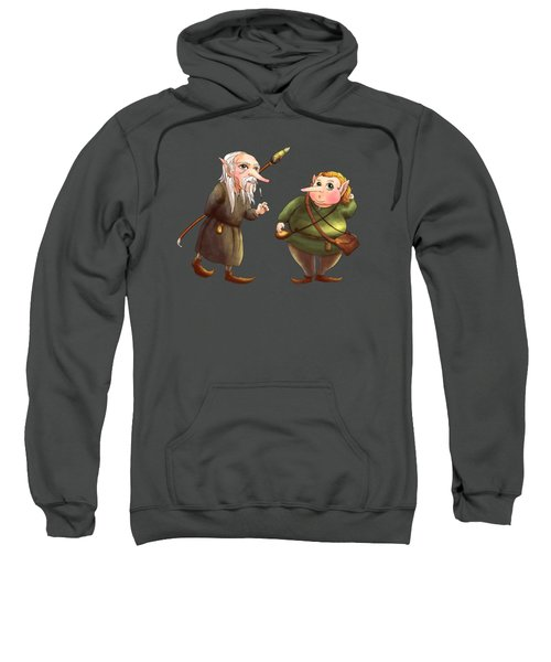 Rupert And Shuman Sweatshirt by Reynold Jay