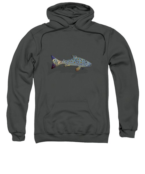 Sea Trout Sweatshirt by Mikael Jenei
