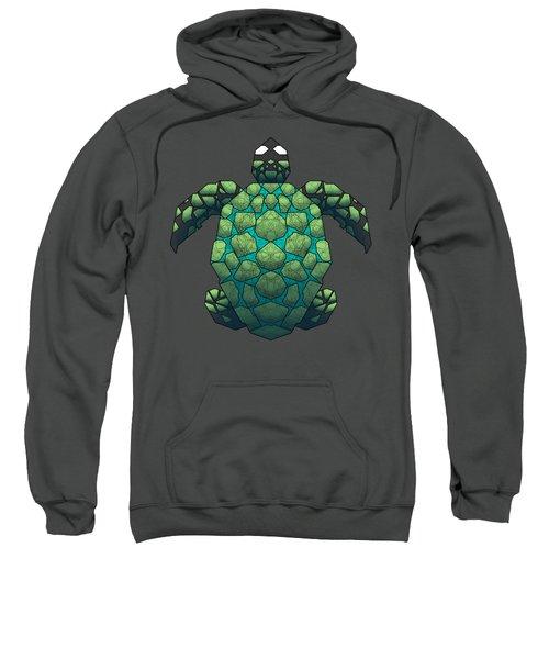 Sea Turtle Sweatshirt by Dusty Conley