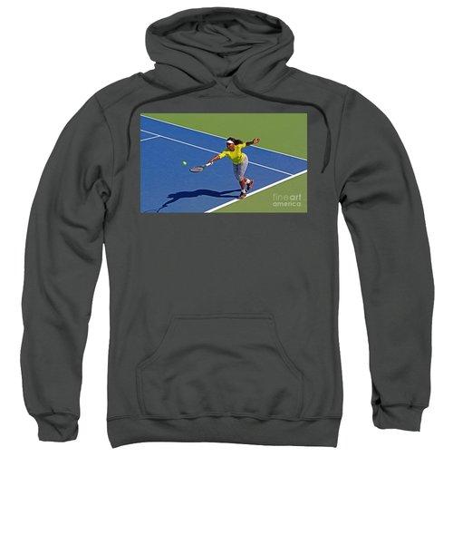Serena Williams 1 Sweatshirt by Nishanth Gopinathan