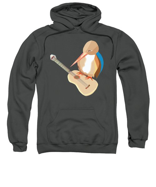 Shall Strum The Strings Unto The Lord D Sweatshirt by Thecla Correya