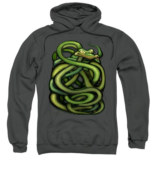 Snakes Sweatshirt by Kevin Middleton