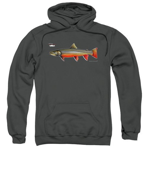 Spawning Bull Trout And Kokanee Salmon Sweatshirt by Nick Laferriere