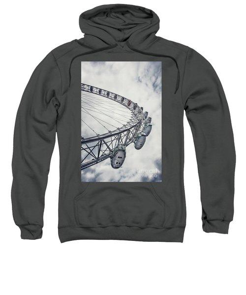 Spin Me Around Sweatshirt by Evelina Kremsdorf