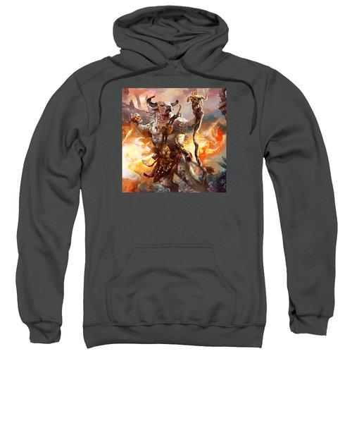 Spiritcaller Shaman Sweatshirt by Ryan Barger