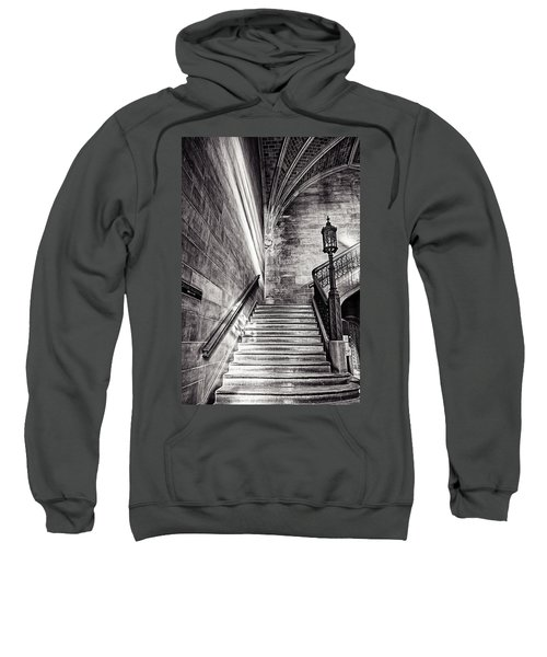 Stairs Of The Past Sweatshirt by CJ Schmit