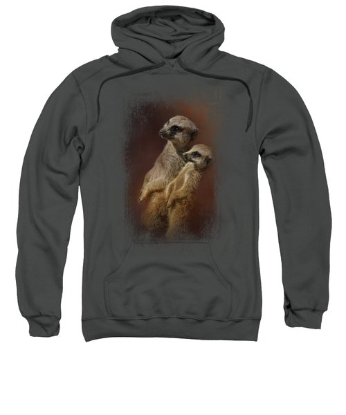 Standing At Attention Sweatshirt by Jai Johnson