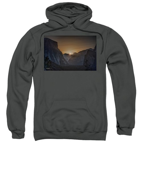 Sunburst Yosemite Sweatshirt by Bill Roberts