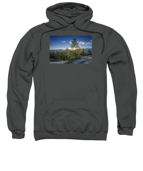 Sunrise On Sentinel Dome Sweatshirt by Rick Berk