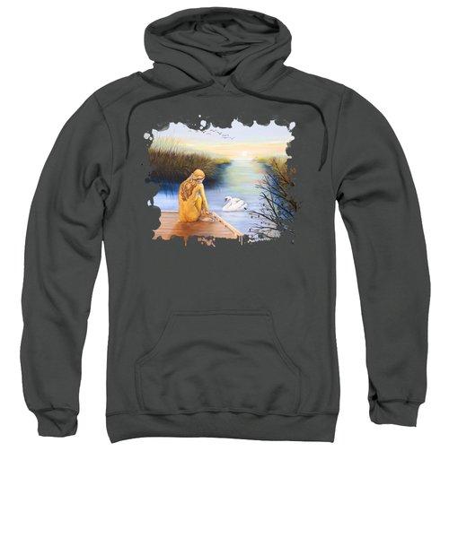 Swan Bride T-shirt Sweatshirt by Dorothy Riley
