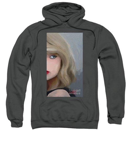 Taylor Swift  Sweatshirt by Barbara Stanley