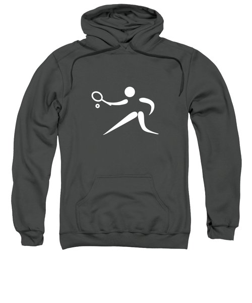 Tennis Player Sweatshirt by Frederick Holiday