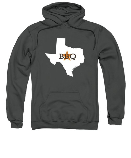 Texas Bbq Sweatshirt by Nancy Ingersoll