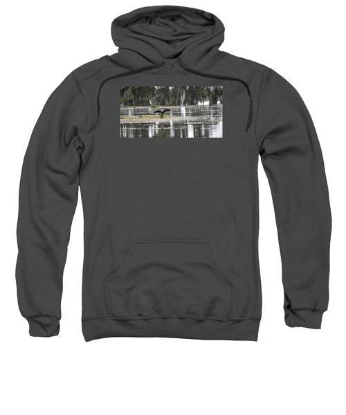 The Announcer  Sweatshirt by Betsy Knapp