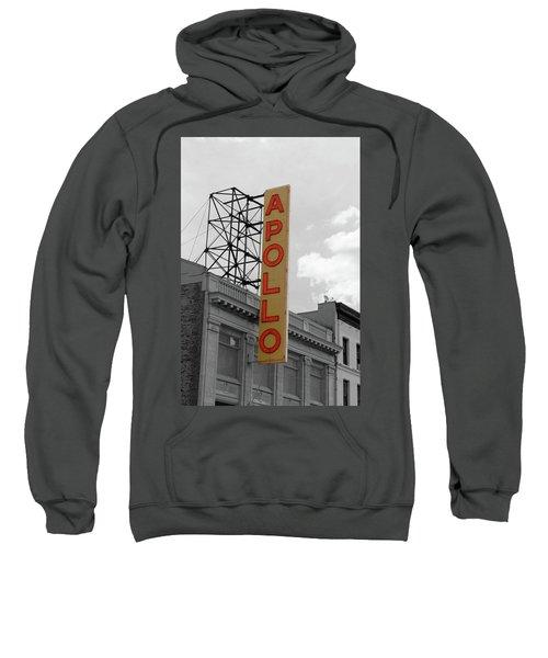 The Apollo In Harlem Sweatshirt by Danny Thomas