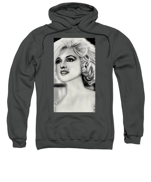 The Blonde Bombshell  Sweatshirt by Pat Carafa