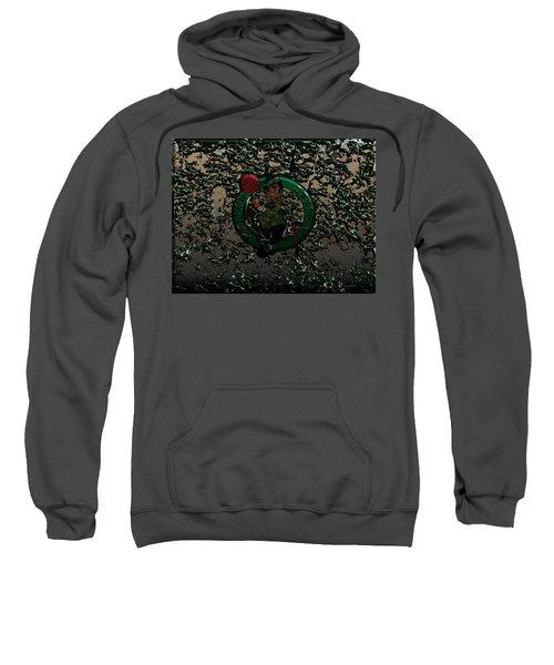 The Boston Celtics 1c Sweatshirt by Brian Reaves
