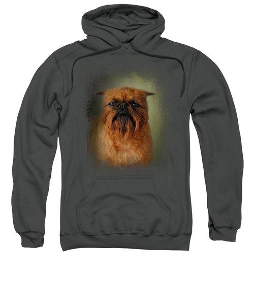 The Brussels Griffon Sweatshirt by Jai Johnson