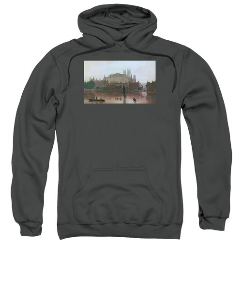 The Houses Of Parliament Sweatshirt by George Fennel Robson