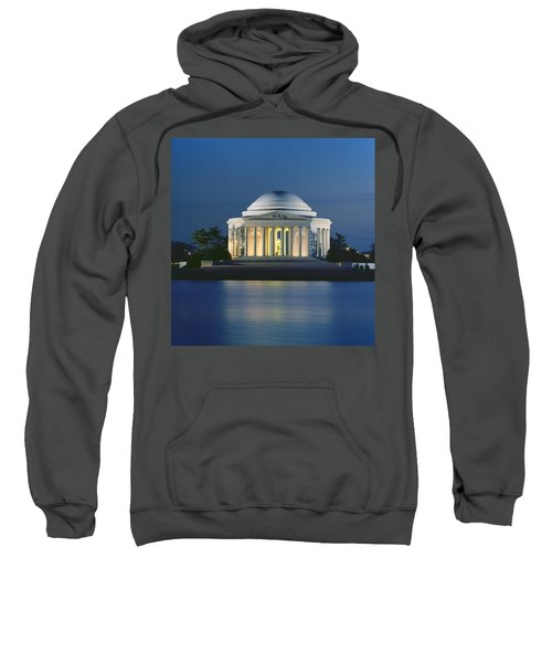 The Jefferson Memorial Sweatshirt by Peter Newark American Pictures