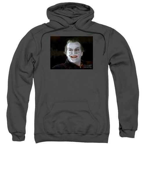 The Joker Sweatshirt by Paul Tagliamonte