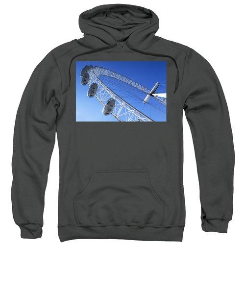 The London Eye, Close-up Sweatshirt by Simon Kayne