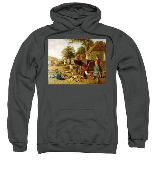 The Market Cart Sweatshirt by Henry Charles Bryant