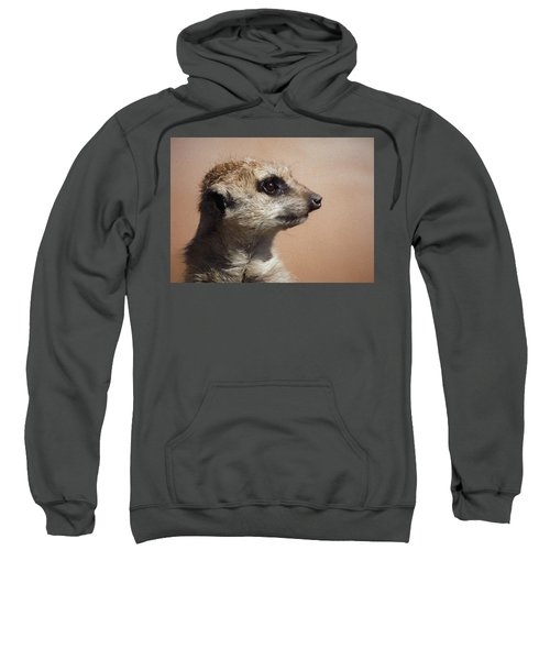 The Meerkat Da Sweatshirt by Ernie Echols