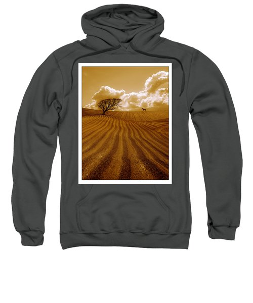 The Ploughed Field Sweatshirt by Mal Bray