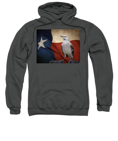 The State Bird Of Texas Sweatshirt by David and Carol Kelly