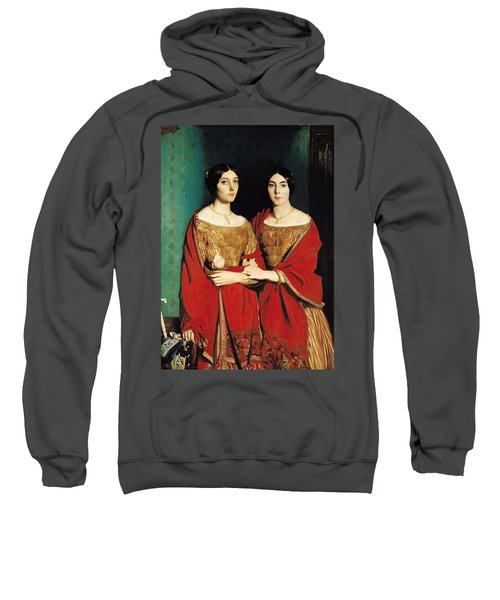 The Two Sisters Sweatshirt by Theodore Chasseriau