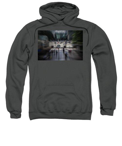 Time Traveller Sweatshirt by Martin Newman
