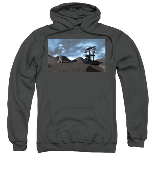 Tomorrow Morning Sweatshirt by Brainwave Pictures