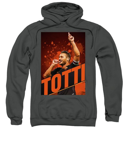 Totti Sweatshirt by Semih Yurdabak