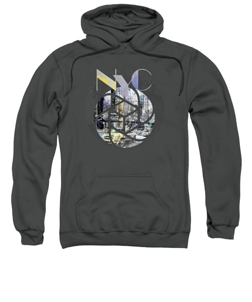Trendy Design New York City Geometric Mix No 4 Sweatshirt by Melanie Viola