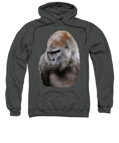 U Lookin At Me Sweatshirt by James Shepherd