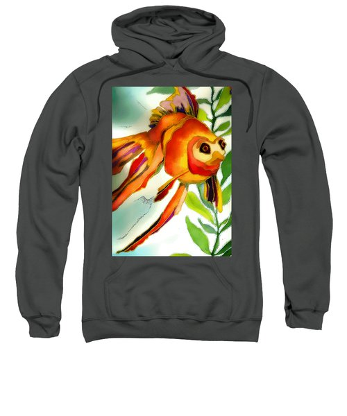 Underwater Fish Sweatshirt by Lyn Chambers