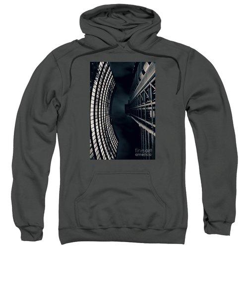 Vertigo I Sweatshirt by Jasna Buncic