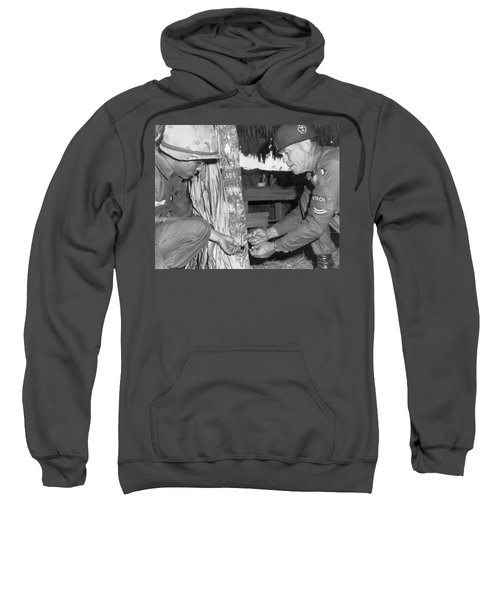 Viet Cong Booby Trap Sweatshirt by Underwood Archives